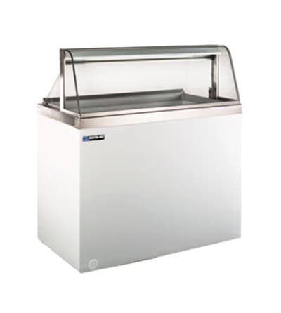 "Master-bilt DD-88CG 90.75"" Stand Alone Ice Cream Freezer w/ 16-Tub Capacity & 12-Tub Storage, 115v"