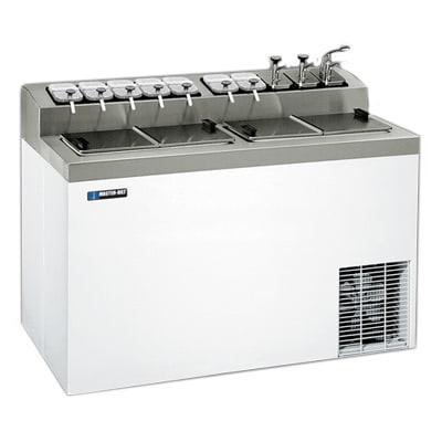 "Master-bilt FLR-80SE 54"" Stand Alone Ice Cream Freezer w/ 6-Tub Capacity & 11-Tub Storage, 115v"
