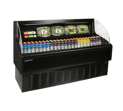 "Master-bilt HOAM60 60"" Horizontal Open Air Cooler w/ (2) Levels, 115v"