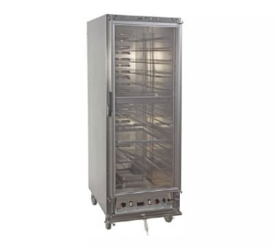 Master-bilt HP6ALX Full Height Mobile Heated Cabinet w/ (17) Pan Capacity, 115v