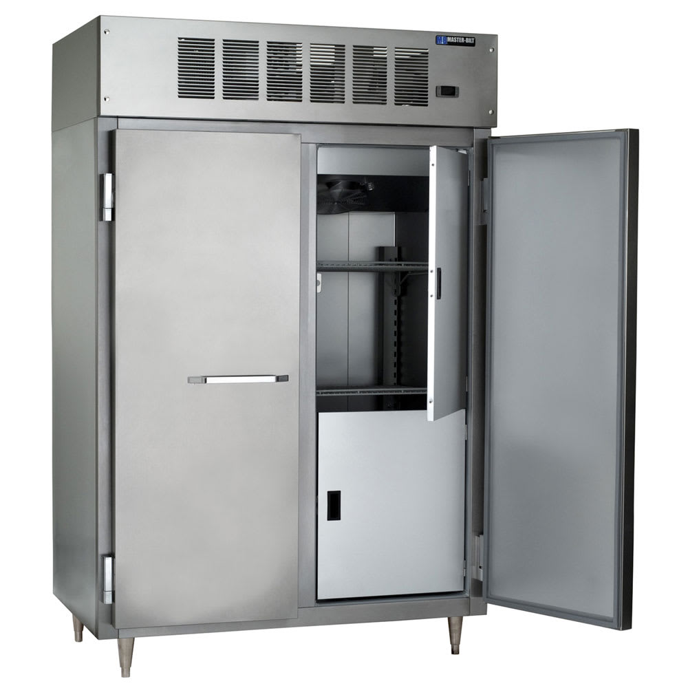 """Master-bilt IHC-48 52"""" Two Section Reach-In Freezer, (2) Solid Doors, 208-230v/1ph"""