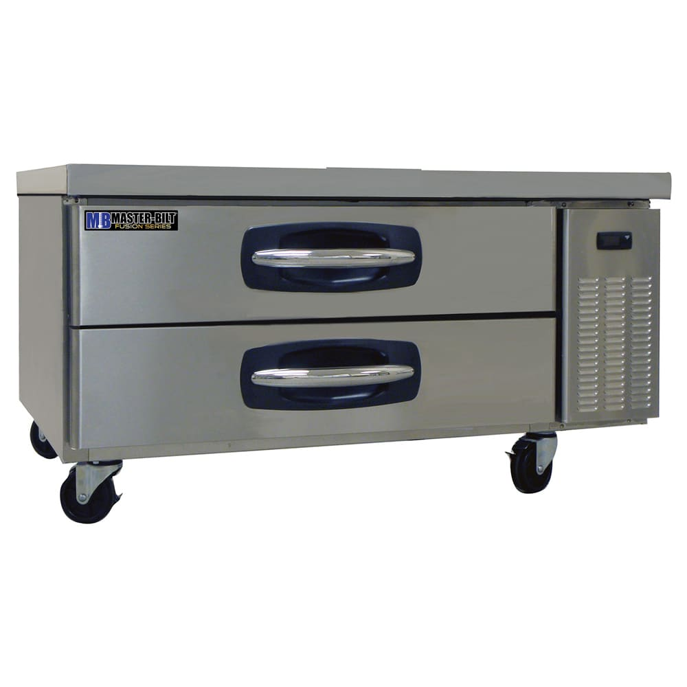 "Master-bilt MBCB48 48"" Chef Base w/ (2) Drawers, 115v"