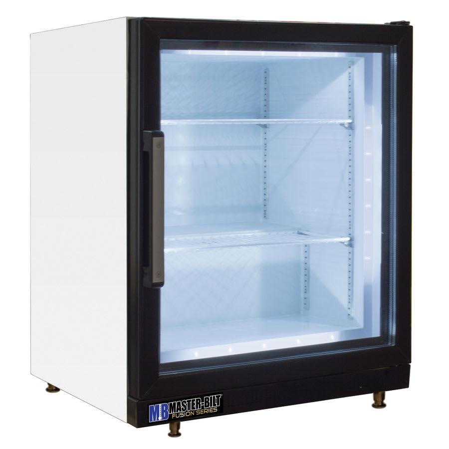 """Master-bilt MBCTM4-F 24"""" One-Section Display Freezer w/ Swinging Door, Rear Mount Compressor, 115v"""