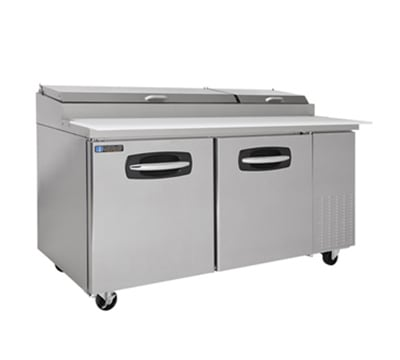 "Master-bilt MBPT67-001 67"" Pizza Prep Table w/ Refrigerated Base, 115v"
