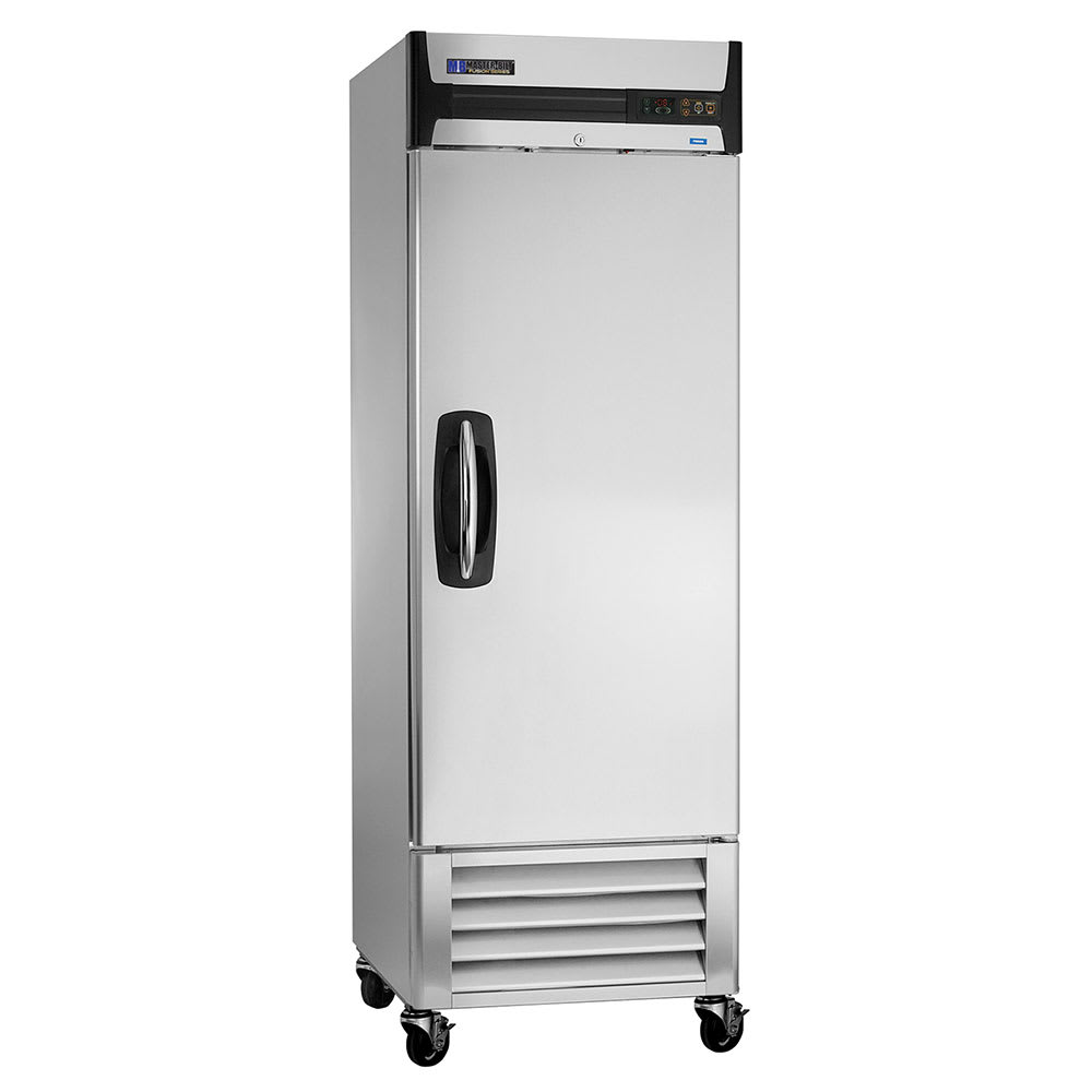 "Master-bilt MBR23-S 28"" Single Section Reach-In Refrigerator, (1) Solid Door, 115v"