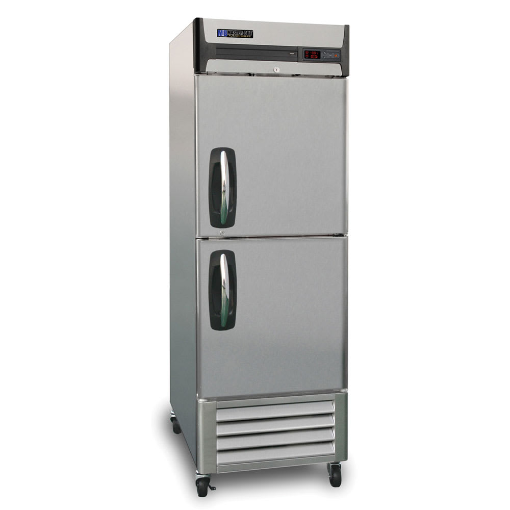 "Master-bilt MBR23-SH 27.5"" One-Section Reach-In Refrigerator, (2) Solid Doors, 115v"
