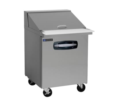 "Master-bilt MBSMP27-12 27"" Sandwich/Salad Prep Table w/ Refrigerated Base, 115v"