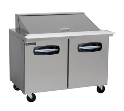 "Master-bilt MBSMP48-18 48"" Sandwich/Salad Prep Table w/ Refrigerated Base, 115v"