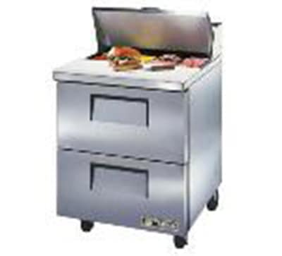"Master-bilt MBSMP72-30-006 72"" Sandwich/Salad Prep Table w/ Refrigerated Base, 115v"