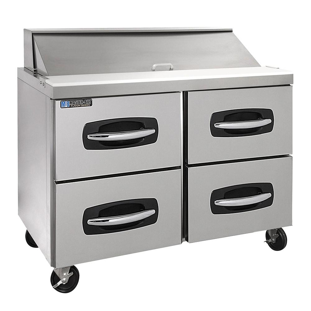 "Master-bilt MBSP48-12-001 48"" Sandwich/Salad Prep Table w/ Refrigerated Base, 115v"