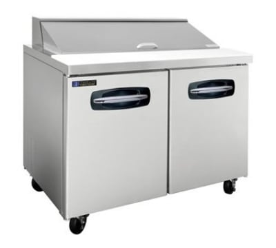 "Master-bilt MBSP48-12-002 48"" Sandwich/Salad Prep Table w/ Refrigerated Base, 115v"