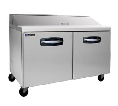 "Master-bilt MBSP60-16 60"" Sandwich/Salad Prep Table w/ Refrigerated Base, 115v"