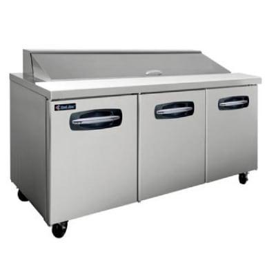 "Master-bilt MBSP72-18-007 72"" Sandwich/Salad Prep Table w/ Refrigerated Base, 115v"