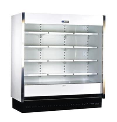 "Master-bilt MDT-08 96"" Vertical Open Air Cooler w/ (5) Levels, 120/230v/1ph"
