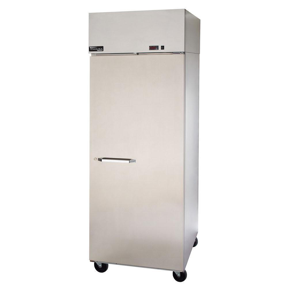 """Master-bilt MNR241SSS/0X 28"""" Single Section Reach-In Refrigerator, (1) Solid Door, 115v"""