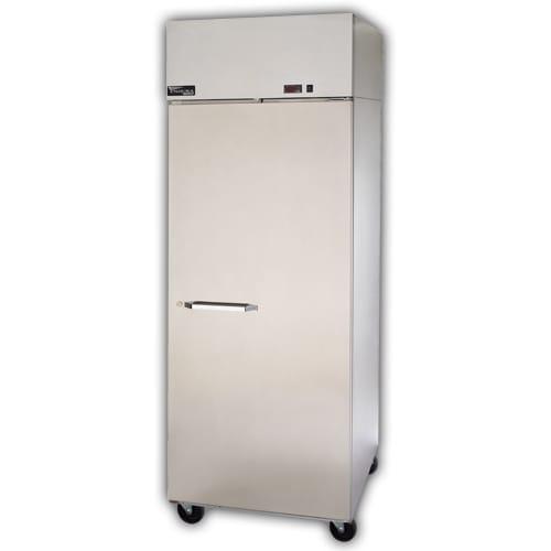 """Master-bilt MNR242SSS/0X 28"""" Single Section Reach-In Refrigerator, (2) Solid Door, 115v"""
