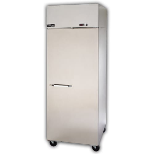 "Master-bilt MNR806SSS/0X 82.5"" Three Section Reach-In Refrigerator, (6) Solid Doors, 115v"
