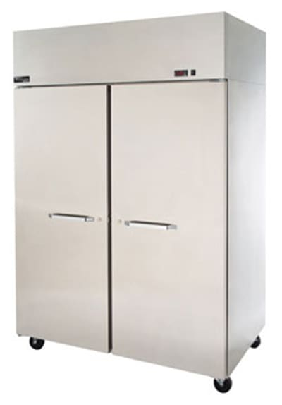 Master-bilt MNW482SSS/8 Full-Height Insulated Mobile Heated Cabinet w/ (6) Pan Capacity, 208-230v/1ph