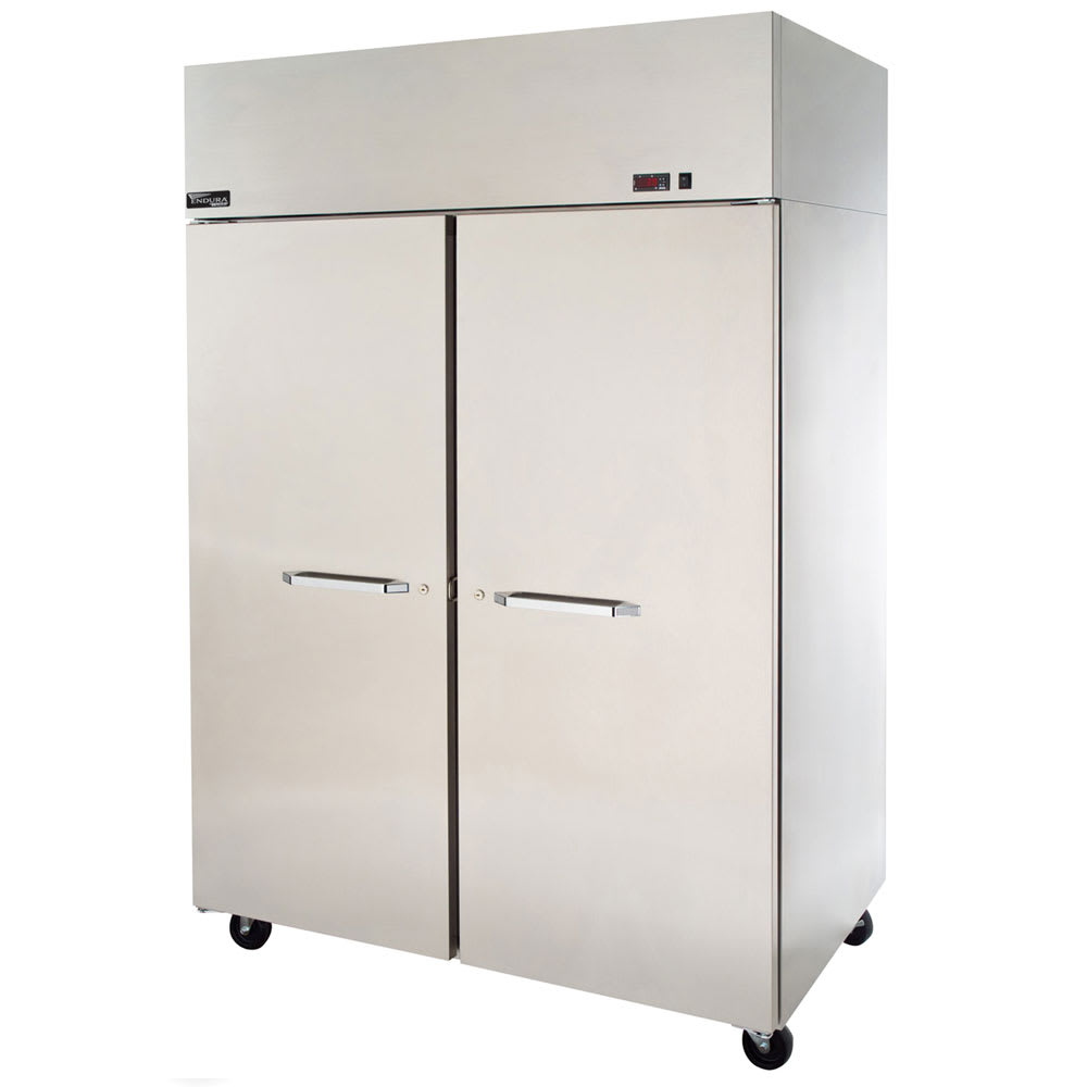 "Master-bilt MPR242SSS/0X 28"" Single Section Pass-Thru Refrigerator, (1) Solid Door, 115v"