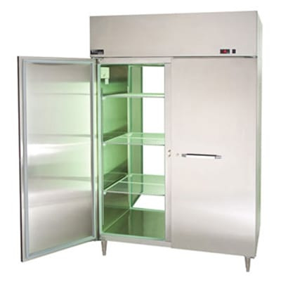 Master-bilt MPW554SSS/8 Full-Height Insulated Mobile Heated Cabinet w/ (6) Pan Capacity, 115v