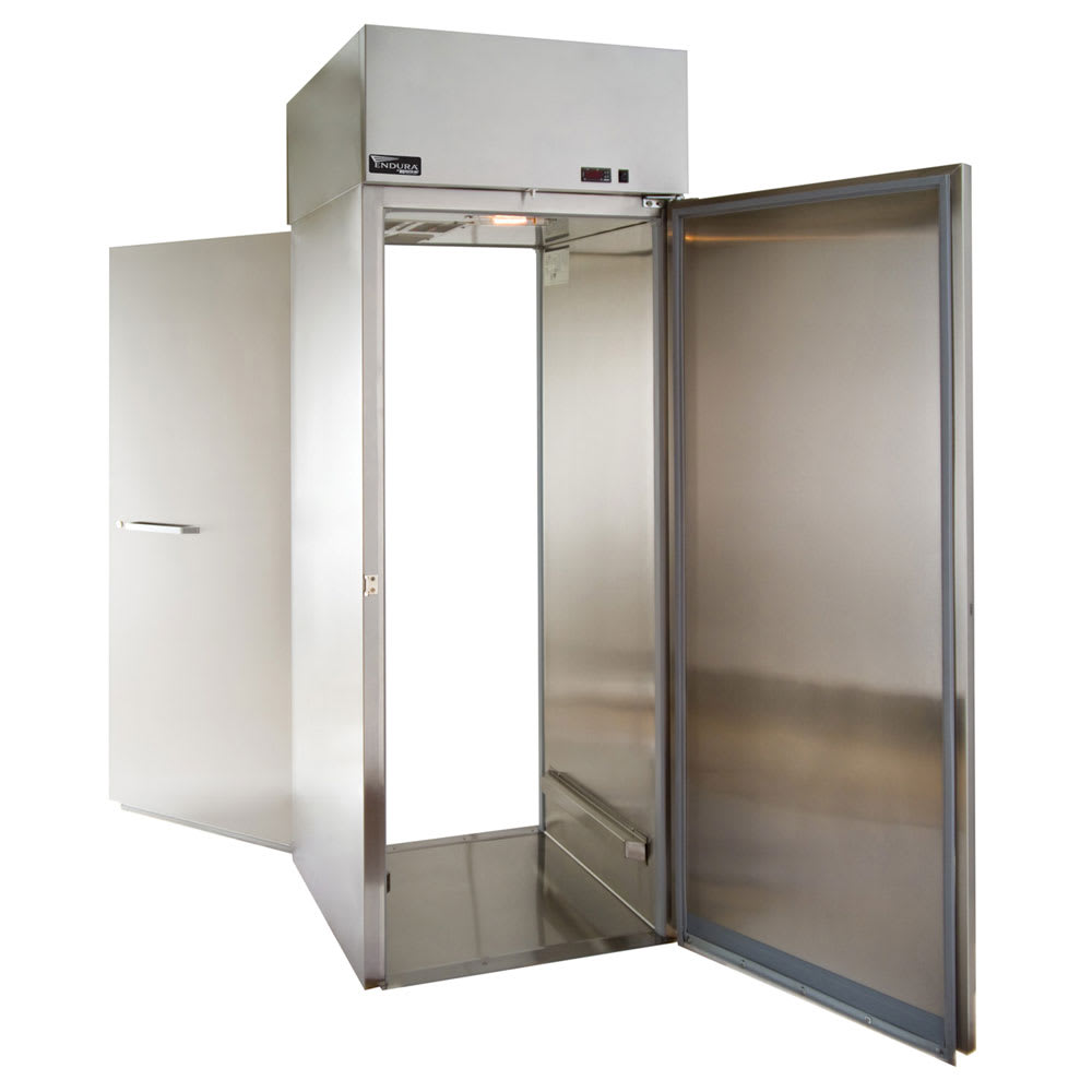 "Master-bilt MPWR332SSS/0X 31"" Single Section Roll-Thru Refrigerator, (1) Solid Door, 115v"