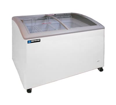 "Master-bilt MSC-41AN 41"" Mobile Ice Cream Freezer w/ 4 Baskets, Mobile, White, 115v"