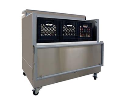 Master-bilt OMC-122SS-A Milk Cooler w/ Side Access - (1368) Half Pint Carton Capacity, 115v
