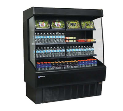 """Master-bilt VOAM48-72 48"""" Vertical Open Air Cooler w/ (4) Levels, 115v"""