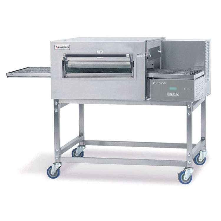 "Lincoln 1180-FB1E 56"" Electric Conveyor Oven - 208v/1ph"