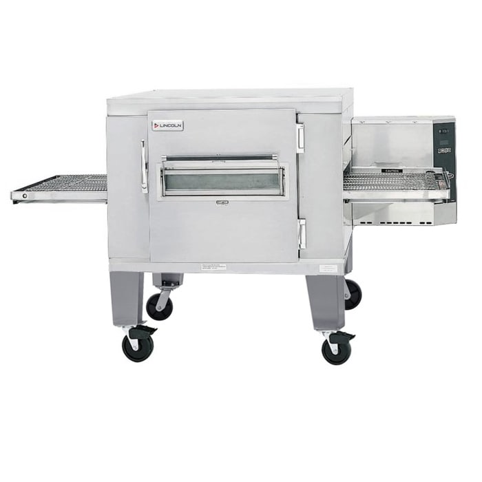 "Lincoln 1400-FB1E 78"" Electric Conveyor Oven - 240v/3ph"