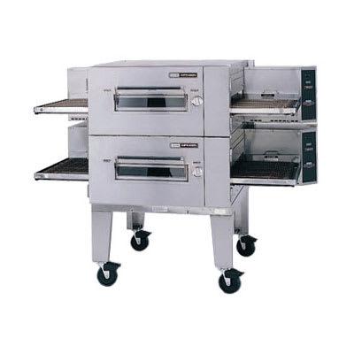 "Lincoln 1600-2E 80"" Impinger Low Profile Double Conveyor Oven - 208v/3ph"