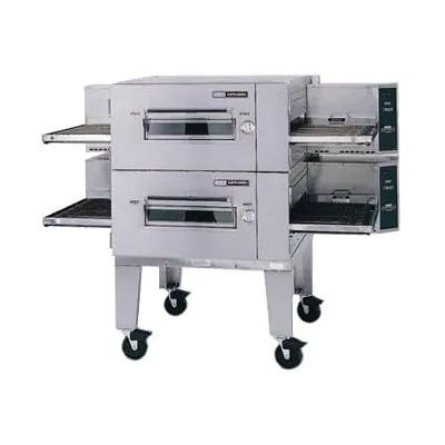 "Lincoln 1600-3E 80"" Impinger Low Profile Triple Conveyor Oven - 220v/3ph"