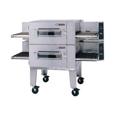 "Lincoln 1600-FB2E 80"" Impinger Low Profile Double Conveyor Oven - 220v/3ph"