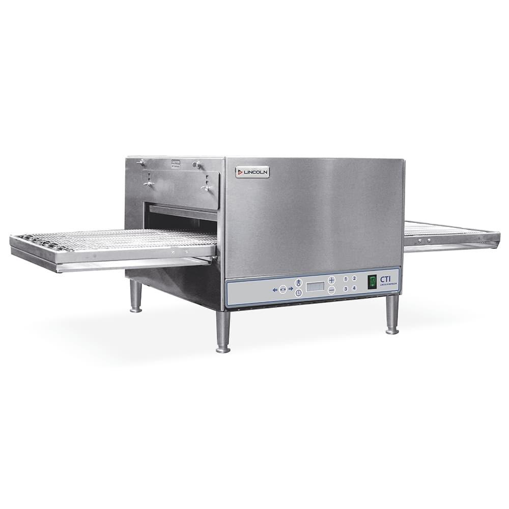 "Lincoln 2500-2 50"" Countertop Double Impinger Conveyor Oven- 208v/1ph"