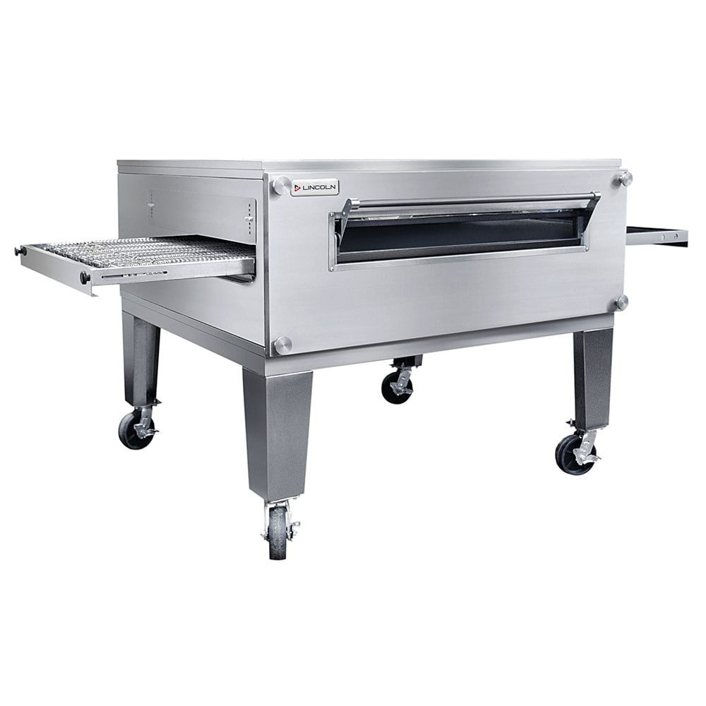 """Lincoln 3255-3 91.1"""" Impinger Triple Conveyor Oven - NG"""