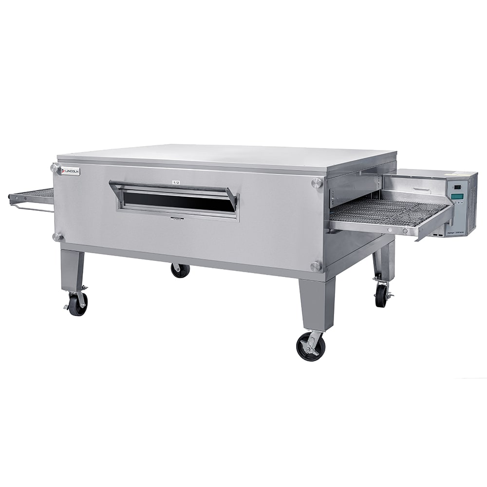 """Lincoln 3270-3 109.7"""" Impinger Triple Conveyor Oven - NG"""