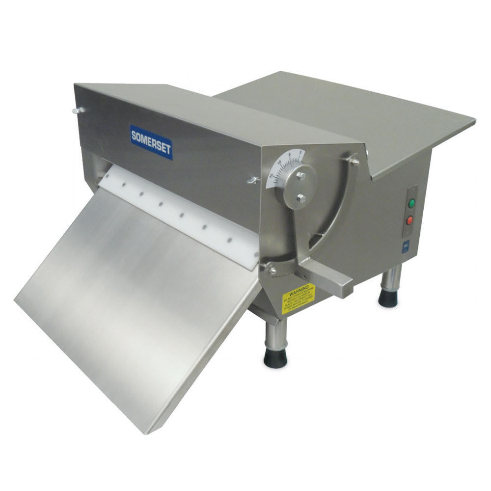 Somerset CDR-500 Countertop Dough Sheeter w/ 600-Piece/Hr Capacity, 115v