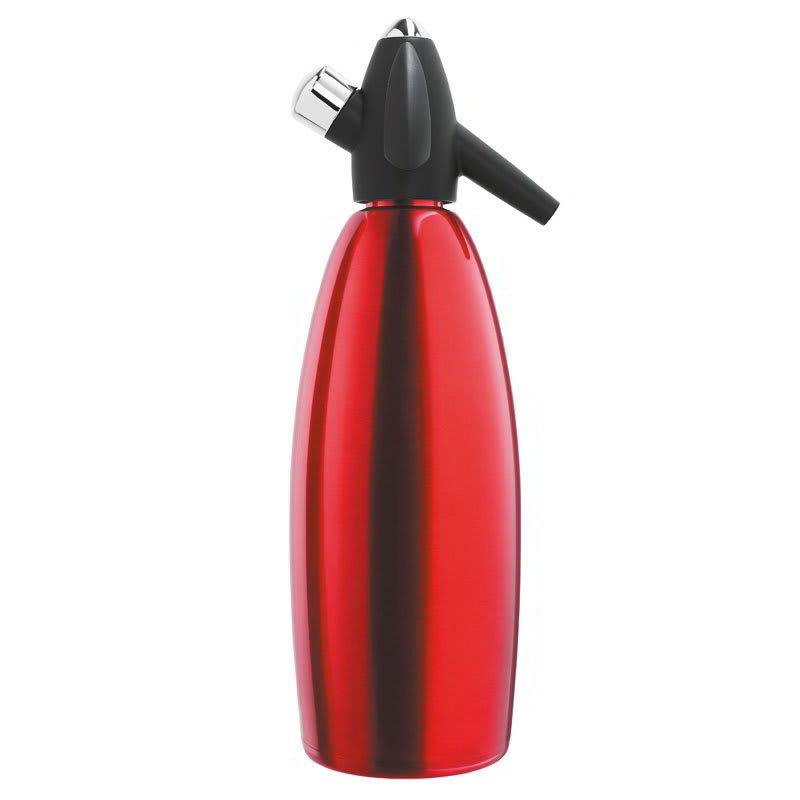 iSi 1009 Red Soda Siphon, One Liter