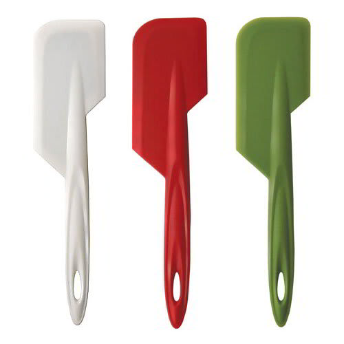 iSi B102 65 Flexible Silicone Wide Spatula Set w/ Assorted Colors