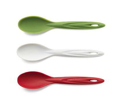 iSi B150 65 Flexible Silicone Utility Spoon Set w/ Assorted Colors