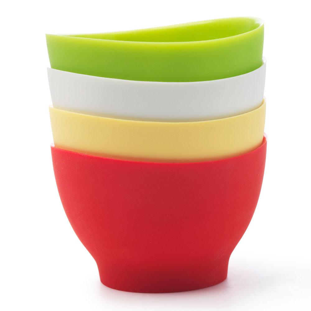 iSi B25565 Pinch Bowl Set w/ (4) 2-oz Bowls & No-Drip Lip, Assorted ...