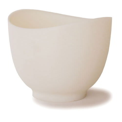 iSi B261 02 1.5-qt Flexible Mixing Bowl w/ Secure Grip Texture & Form Anywhere Spout, White