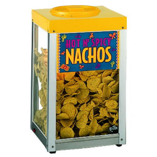 Star 15NCPW Nacho Chip Merchandiser, 10-lb, Heated Stainless Bottom