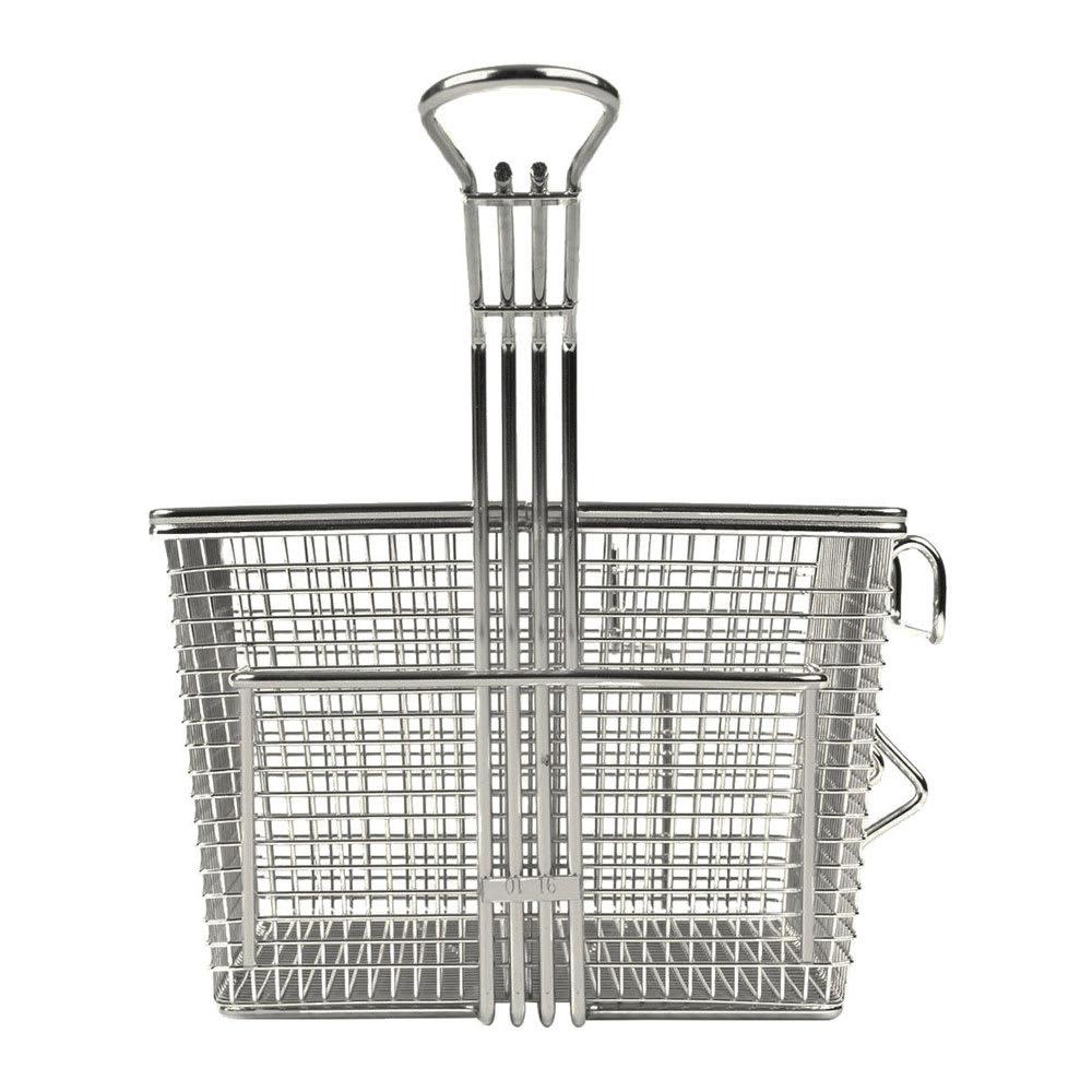 Star 301TBR Half Size Fryer Basket, Steel