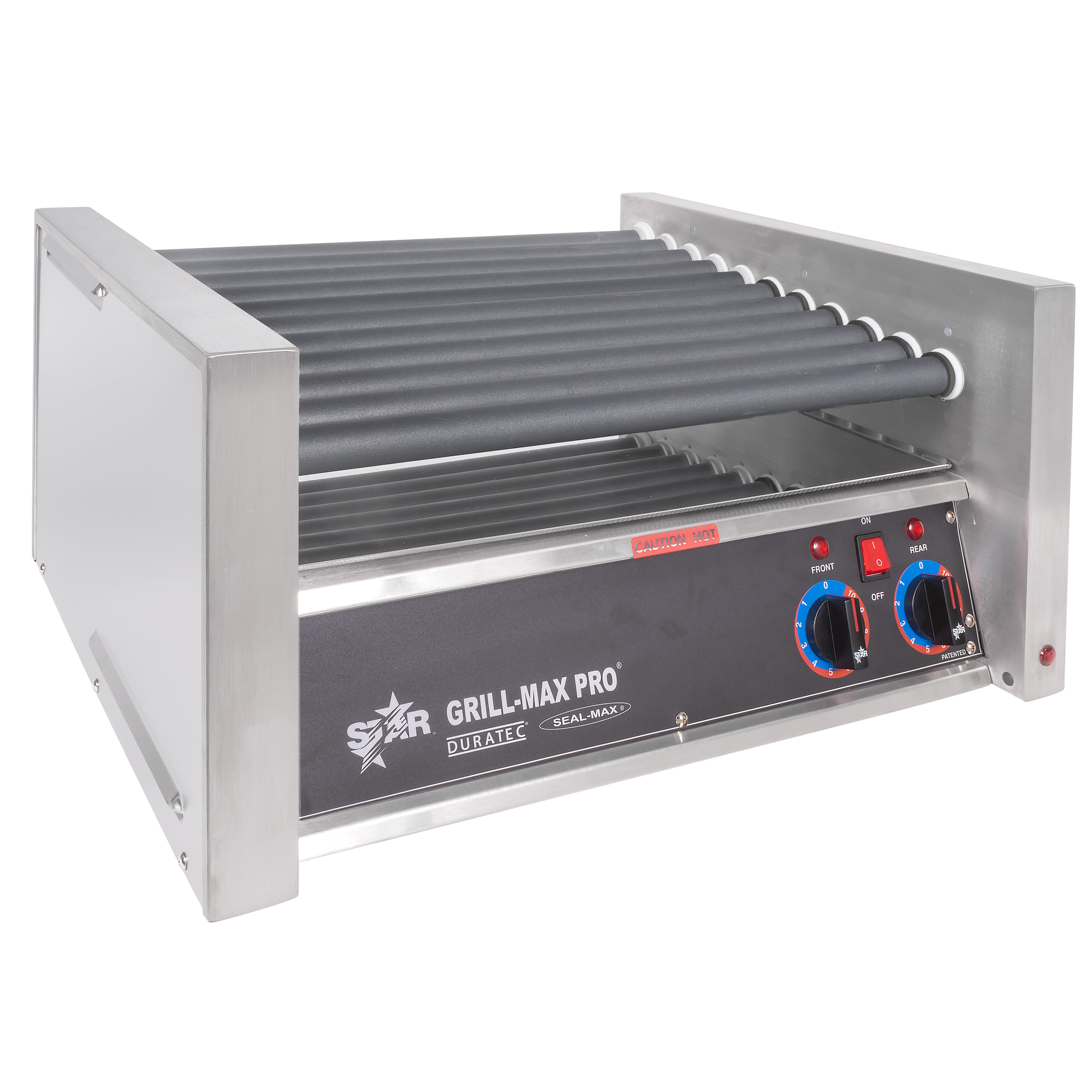 Star 30SC 30 Hot Dog Roller Grill - Slanted Top, 120v