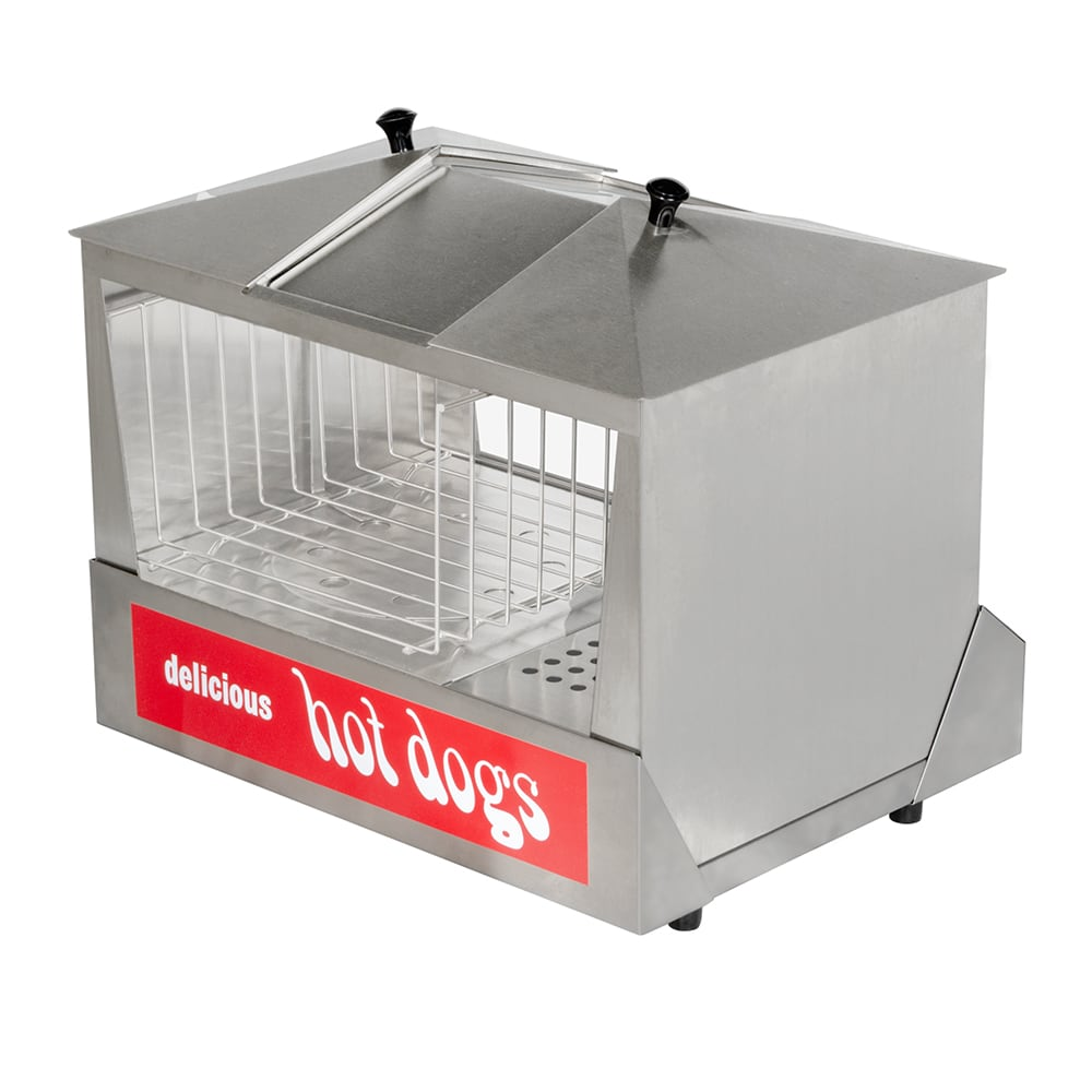 Star 35SSC Hot Dog Steamer, 6 qt Water Pan, 130 Dogs/30 to 40 Buns