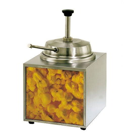 Star 3WLA-B 3.5-qt Countertop Lighted Butter Warmer w/ Pump, 120v