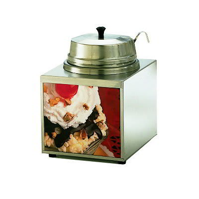 Star 3WLA-W Lighted Food Warmer w/ 1-oz Ladle, 3.5-qt, Stainless, 120v