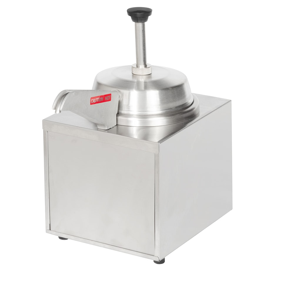 Star 3WSA-HS Food Warmer, Pump w/Heated Spout, 3.5 qt, 120v