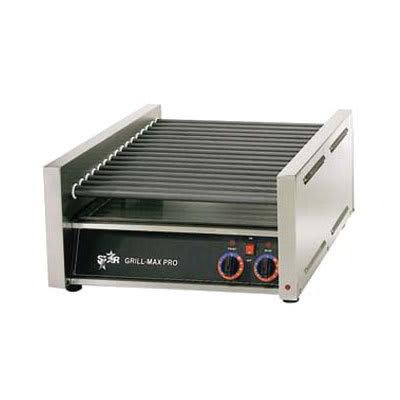 Star 45SCE 45 Hot Dog Roller Grill - Slanted Top, 120v